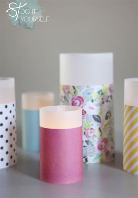 How To Make Vellum Paper - paper vellum lanterns by jen carreiro project