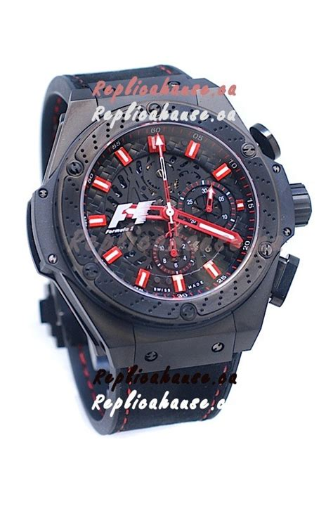 Hublot Big King Power Swiss hublot big f1 edition king power swiss replica black