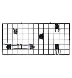 heavy duty garage grid organizer in garage grid or