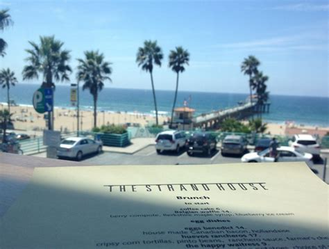 the strand house 7 la brunch spots right on the beach
