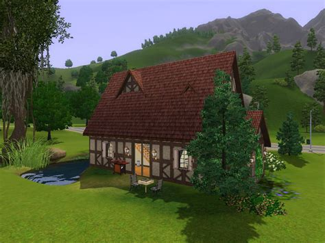 Sims 3 Cottage by Mod The Sims Cambridge Cottage