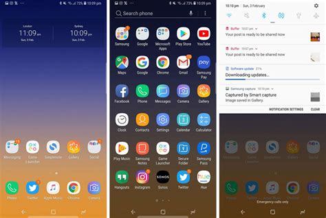 samsungs  ui arrives  australian note