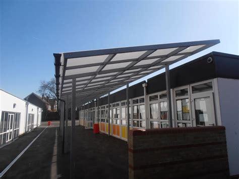 Steel Canopy Steel Canopies Setter Shelters Uk