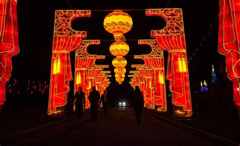 Longleat Festival Of Lights Stately Home Decorated With China Lights