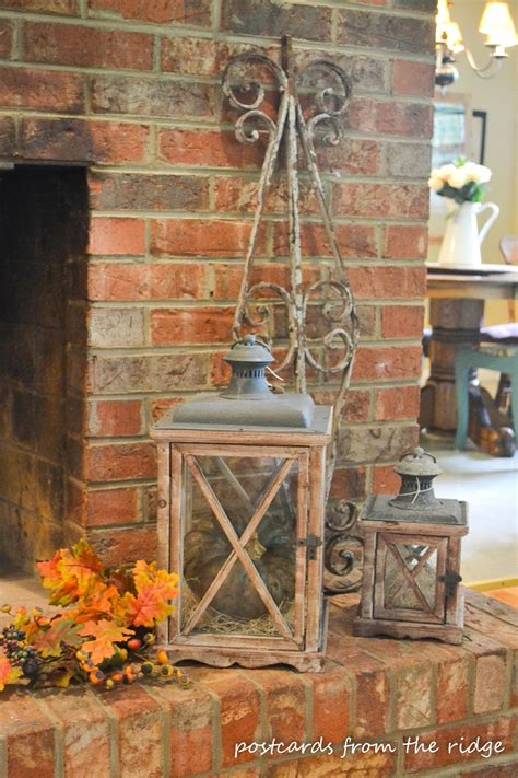decor ideas a few ideas for fall decorating postcards from the ridge