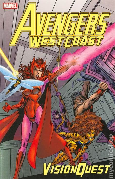 Vision And The Scarlet Witch Tpb 2005 Marvel west coast vision quest tpb 2005 marvel 1st