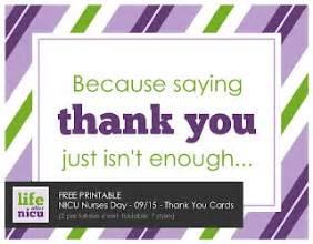 after nicu free printable nicu nurses day thank