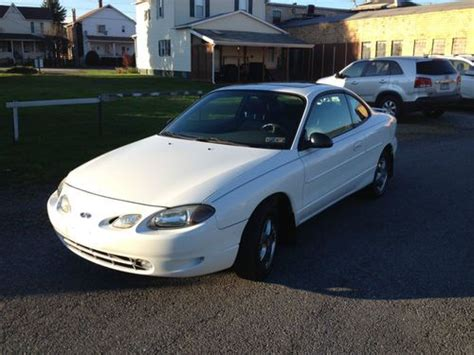 how to sell used cars 2002 ford zx2 sell used 2002 ford escort zx2 25k miles leather loaded no reserve in windber