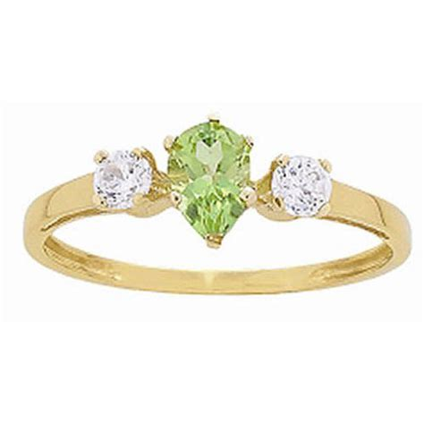 keepsake treasure promise ring with birthstone