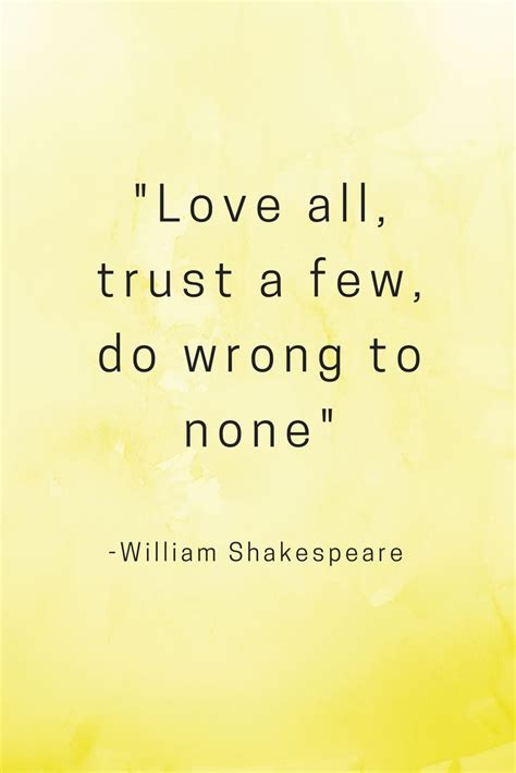 printable trust quotes 25 best shakespeare love quotes on pinterest poems by