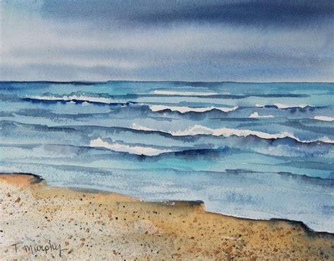 watercolor tutorial seascape 191 best watercolour tutorial waves images on pinterest