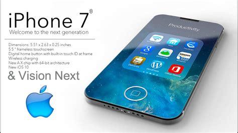 iphone 7 trailer iphone 7 vision next based on leaks rumors