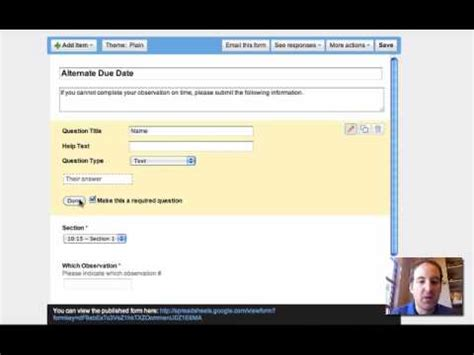 builder design pattern youtube google form builder tutorial youtube