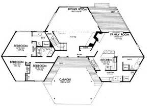 pod additions hexagon living pinterest floor plan hexagon house contemporary home 059h 0142