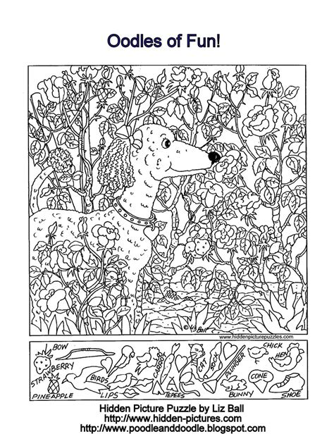 printable hidden pictures puzzles free highlights hidden coloring pages