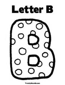litere de colorat pentru copii