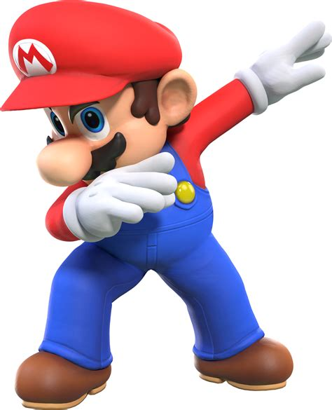 But He S cycles mario but he s unironically dabbing by maxigamer
