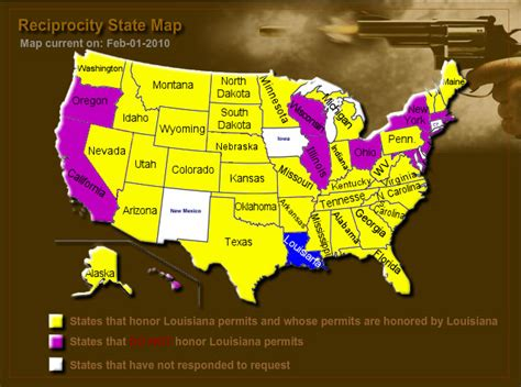 concealed carry reciprocity map concealed carry reciprocity map 2017