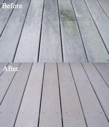 deck cleaner ideas  pinterest deck cleaning