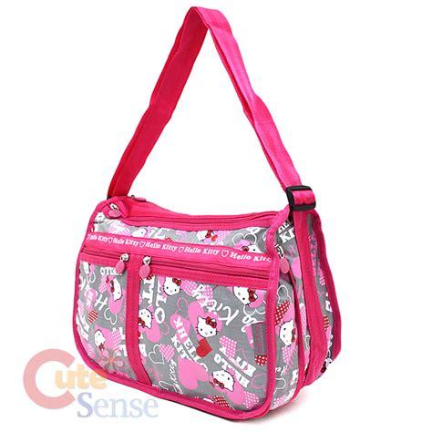 Shoulder Bag Hello Sanrio 05 sanrio hello shoulder messenger bag bag pink