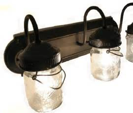 farmhouse bathroom light fixtures bathroom vanity bar trio light fixture of pint jars