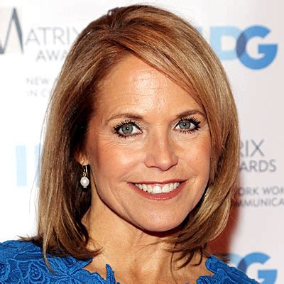 what is katie courics current hairstyle katie couric hairstyle 2012