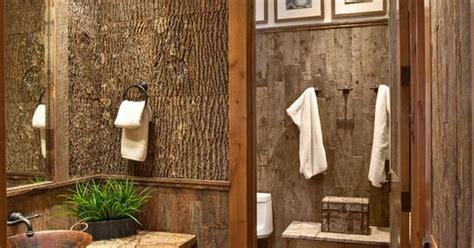 tree themed bathroom rustic bathroom rustic home decor pinterest rustic