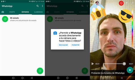 imagenes para usar en whatsapp c 243 mo usar los estados de whatsapp trucos bloqueo de