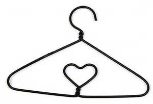 wire photo hanger black miniature wire clothes hanger doll accessories