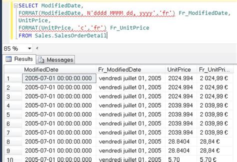format date mysql sql sql server denali string function format a quick