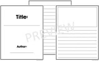 Free Book Template by Free Book Template Printables K Tutoring