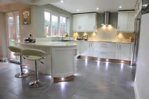 Modern Kitchen Island Lights by Bespoke Kitchens Holme Tree Leicestershire