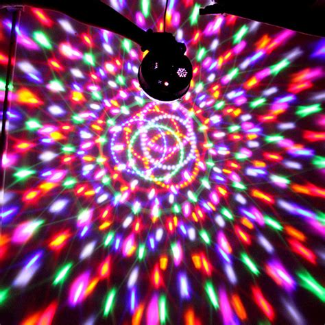 disco lights that react to music 2016 music active rgb rotating led stage crystal ball club