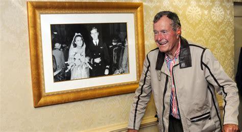 george w bush birthday former president george h w bush celebrates 92nd birthday