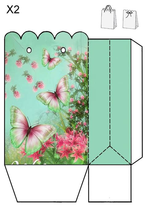 butterfly box template 3118 best images about printables on vintage