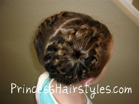 never ending braid bun hairstyles for