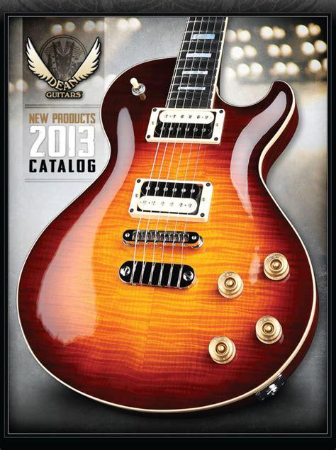 dean catalogs guitar compare dean price list dean brochures