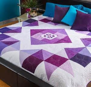 purple quilt patterns to inspire quilting in color