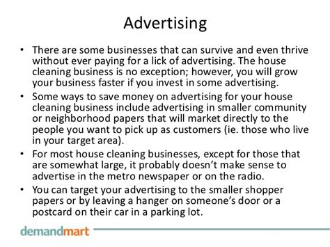 How To Advertise A Cleaning Business Marketing Your House Cleaning Business