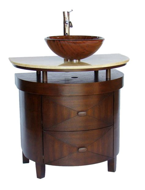 bathroom vanities with vessel sink adelina 32 inch contemporary vessel sink bathroom vanity