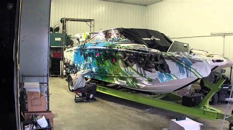 boat vinyl wrap youtube nowak boat wraps mastercraft x55 youtube