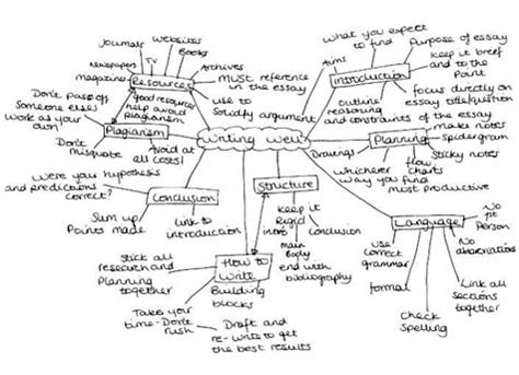 Spider Diagram For Essay Planning by Time Management Using Diagrammatic Linear Notes