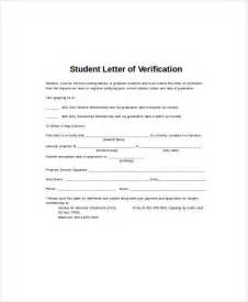 Transfer Verification Letter Sle Student Letter
