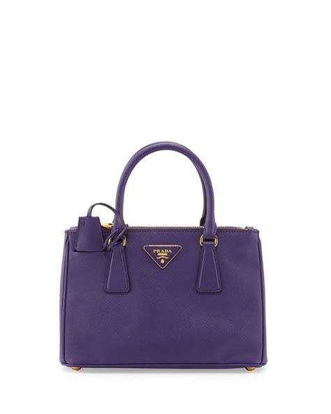 P Da Saffiano 208 prada saffiano zip mini crossbody violet viola