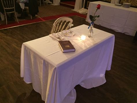 fallen soldier table congratulations it s an army veteran