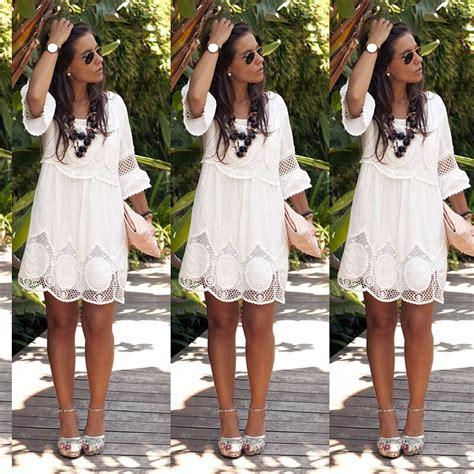 maxi dress lace dresses above knee mini lace dress summer solid color