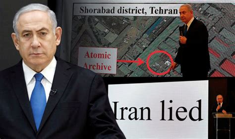 latest uk and world news sport and comment daily express iran nuclear threat israeli pm declares he has proof