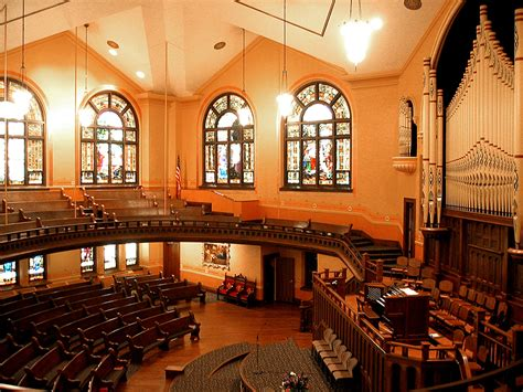 Historic Floor Plans first congregational church akron ohio