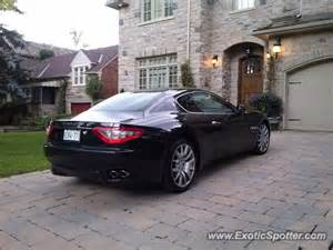 Maserati Canada Maserati Granturismo Spotted In Toronto Canada On 08 06 2013