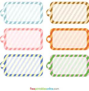 gift tag labels template 20 free printable gift tags